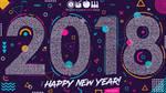 osu! New Year Wallpaper 2018 by betamax777
