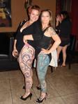 two leg sleeves at the bar