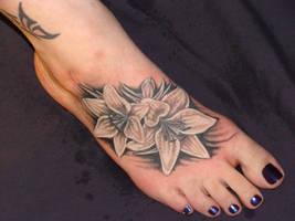foot lillies by danktat