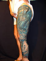 Monochromatic Leg Sleeve