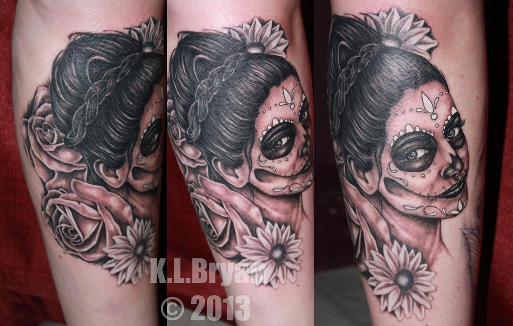 Dia De Los Muertos Tattoo Pic And Vid
