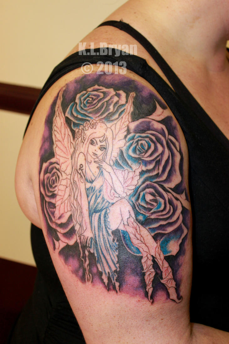 Fairy arm piece sitting 1 by danktat