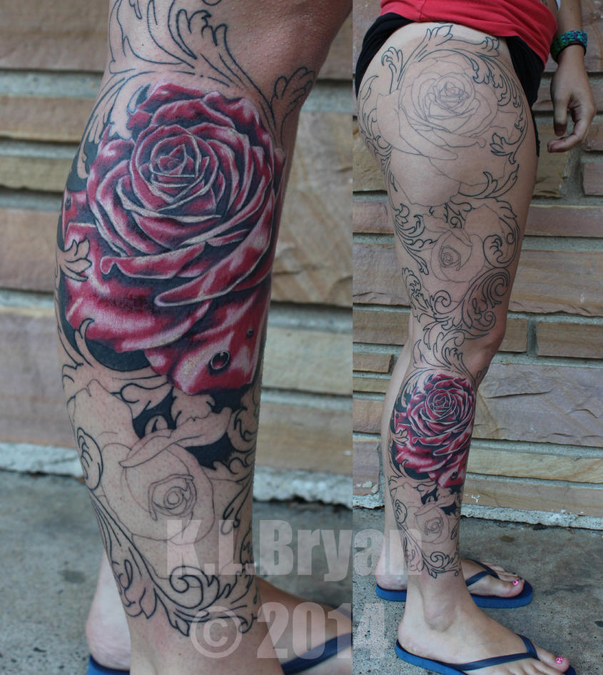 filigree leg sleeve sitting 2 by danktat