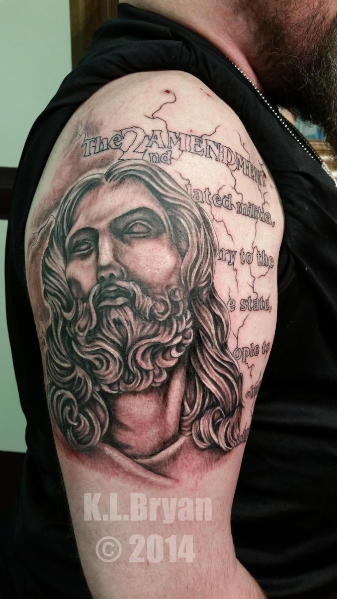 2nd amendment Jesus sitting one by danktat