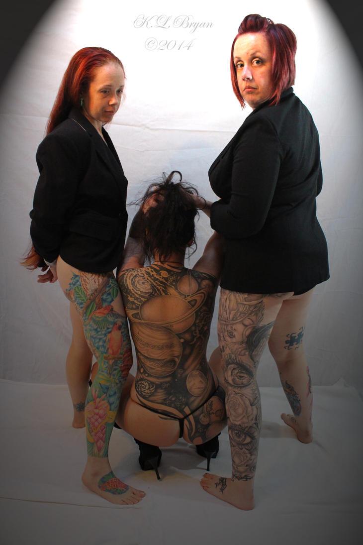 sexy, racy, tattooed women 2 by danktat