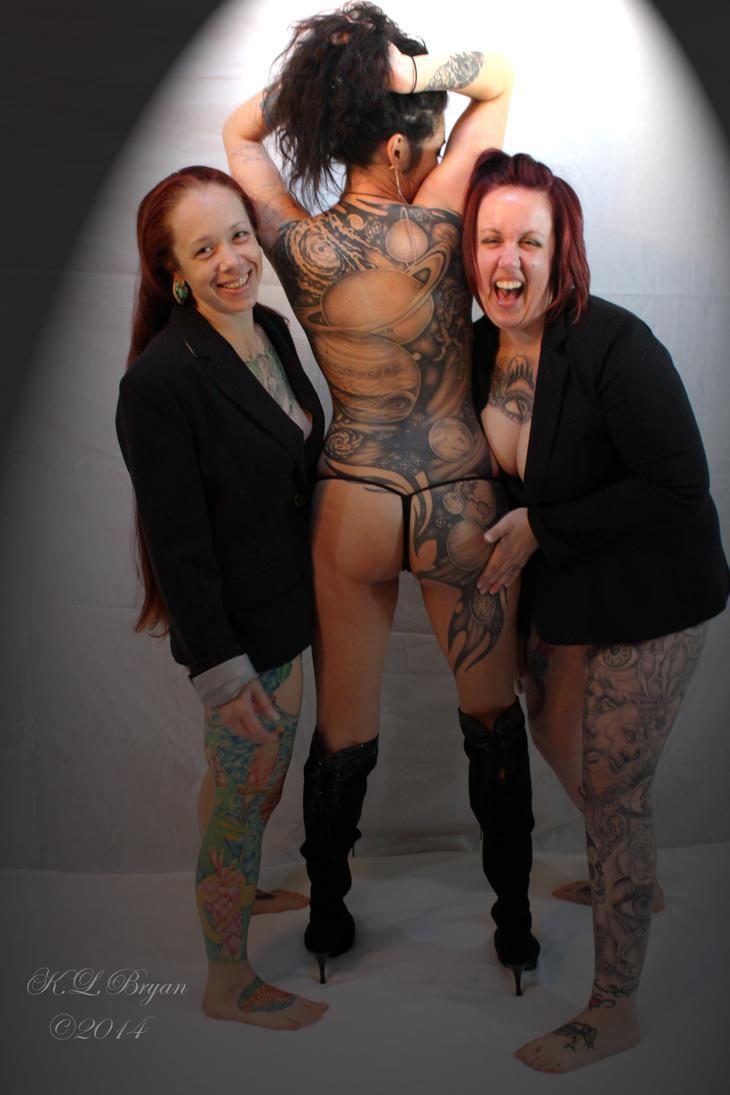 sexy, racy, tattooed women 1 by danktat