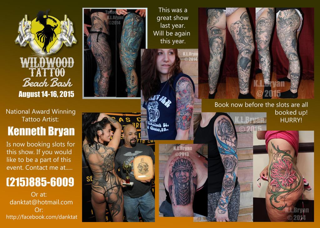 5015 Wildwood Tattoo Convention Banner by danktat