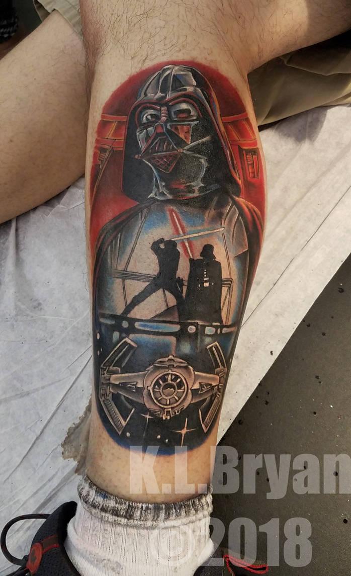 Star Wars Tattoo by danktat