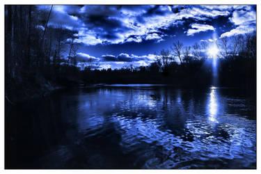 Blue River by aquapell