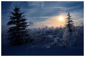 Winter's Edge by aquapell
