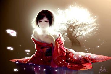 Sakura Scorn by mark-kawaguchi