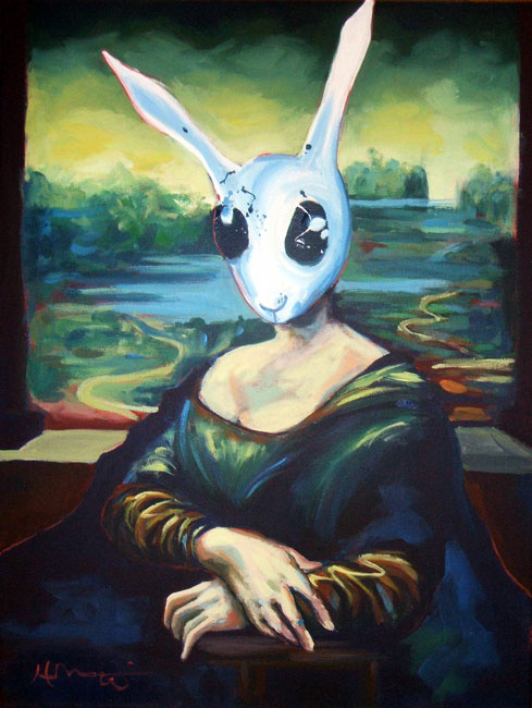 Rabbit Lisa by HillaryWhiteRabbit