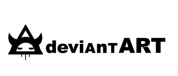 Deviant Logo by Hillary White by HillaryWhiteRabbit