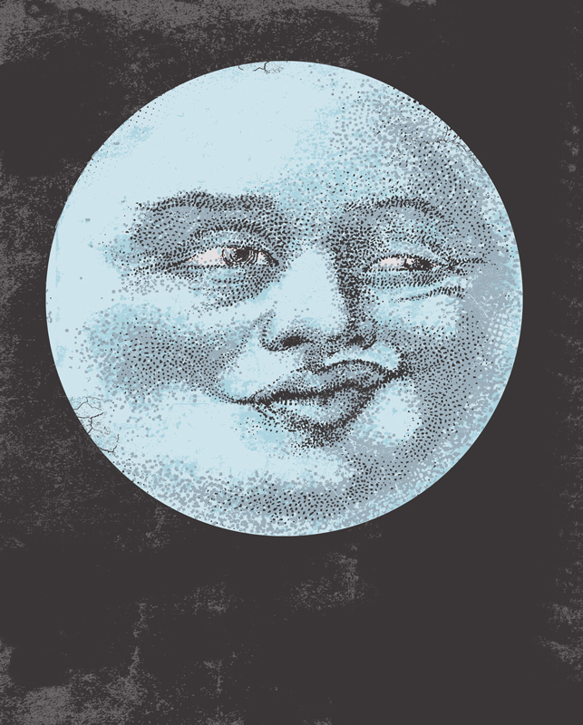 Duckface in the Moon by HillaryWhiteRabbit