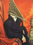Baron Pyramid Head by HillaryWhiteRabbit