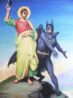 Temptation of Robin by HillaryWhiteRabbit
