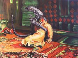 Alien the Terrible by HillaryWhiteRabbit
