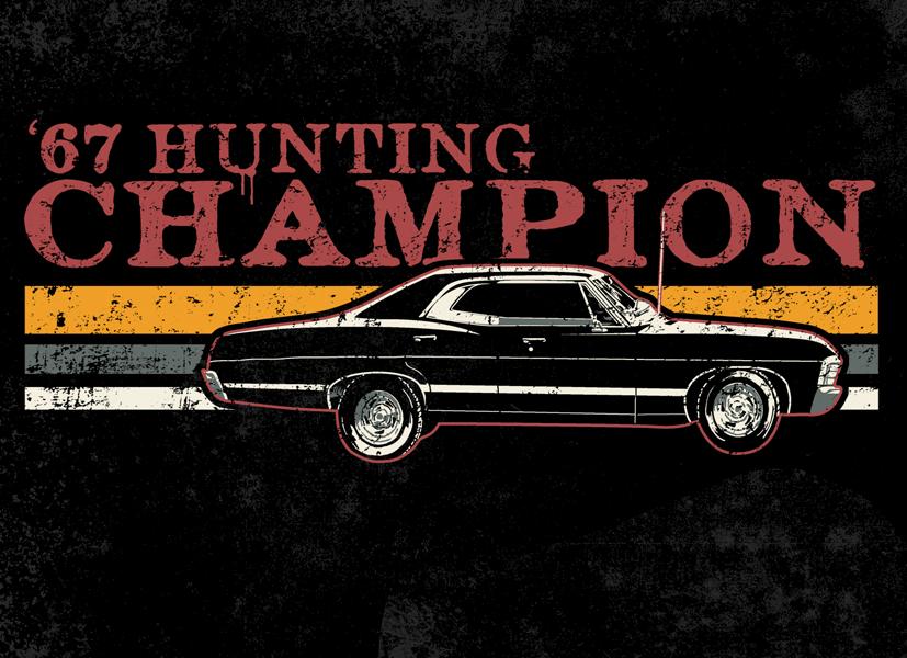 '67 Hunting Champion by HillaryWhiteRabbit