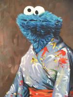 Kimono Monster by HillaryWhiteRabbit