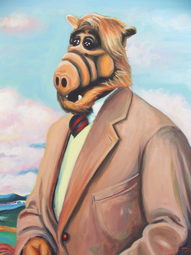 Professor Alf by HillaryWhiteRabbit