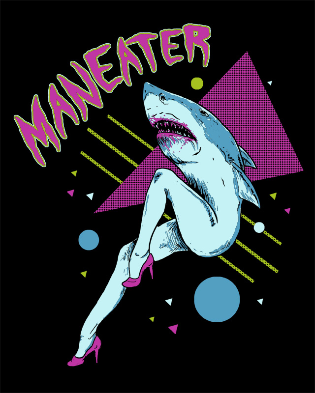 Maneater by HillaryWhiteRabbit