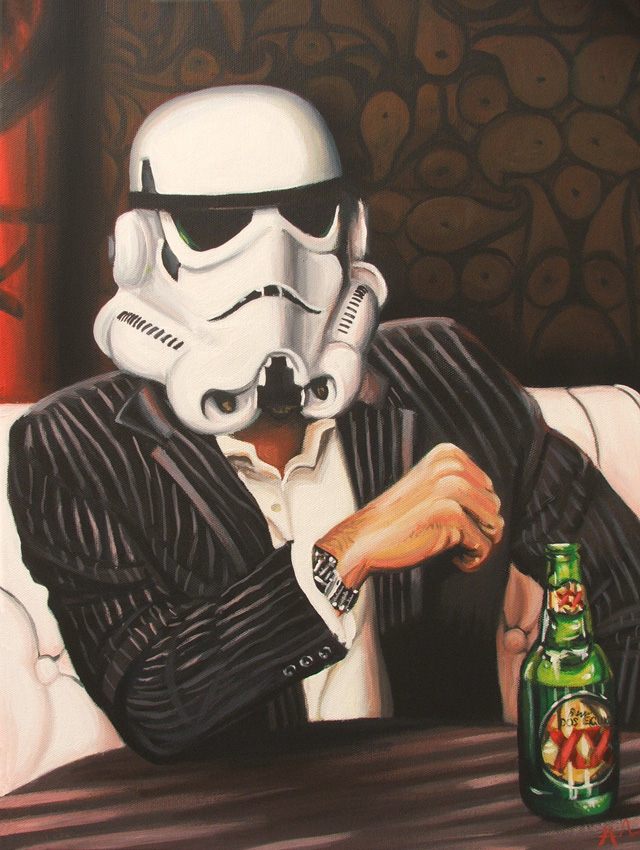 The Most Interesting Trooper in the Galaxy by HillaryWhiteRabbit