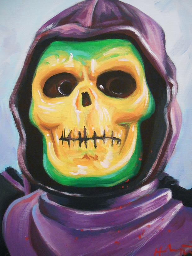 Skeletoy by HillaryWhiteRabbit