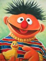 Ernie by HillaryWhiteRabbit