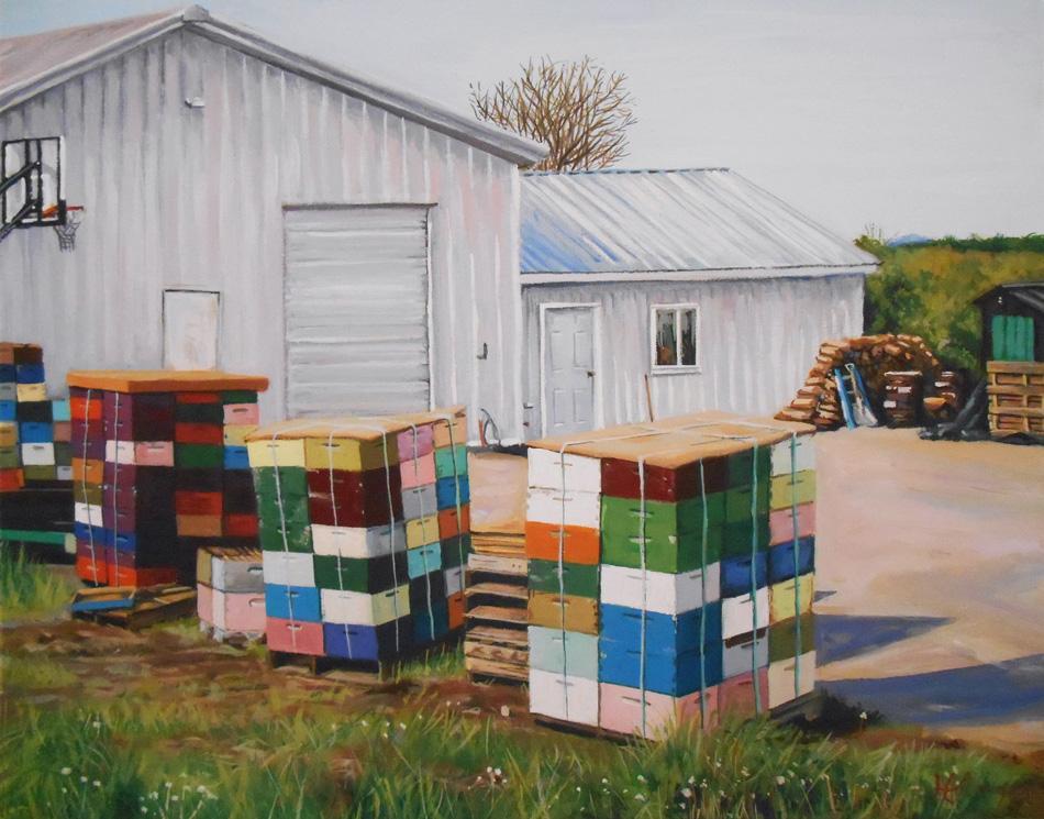 Beehives by HillaryWhiteRabbit