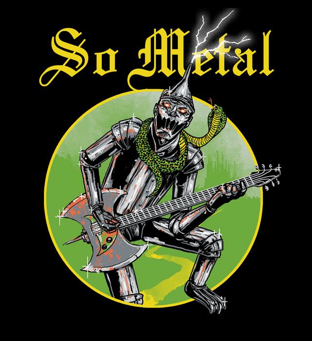 So Metal by HillaryWhiteRabbit