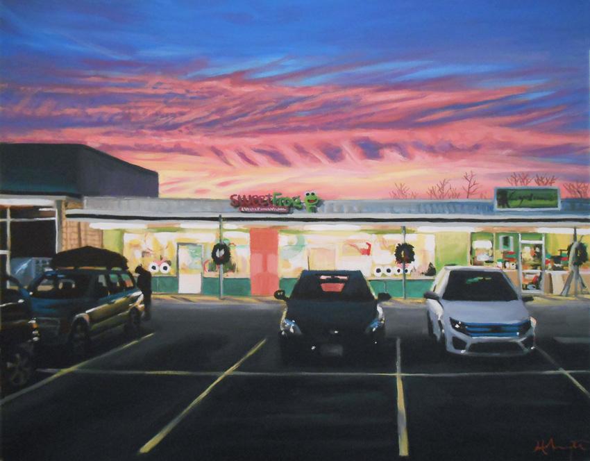 Sweet Sunset by HillaryWhiteRabbit