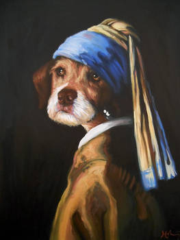 Penny With A Pearl Earring