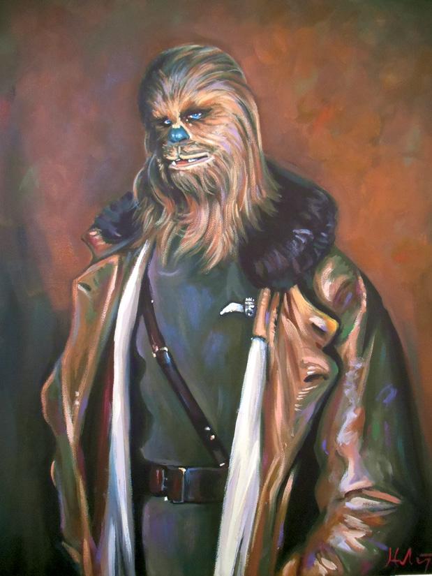 Lieutenant Chewie by HillaryWhiteRabbit