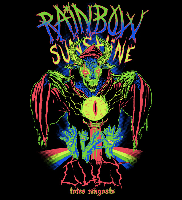 Rainbow Sunshine Cult by HillaryWhiteRabbit