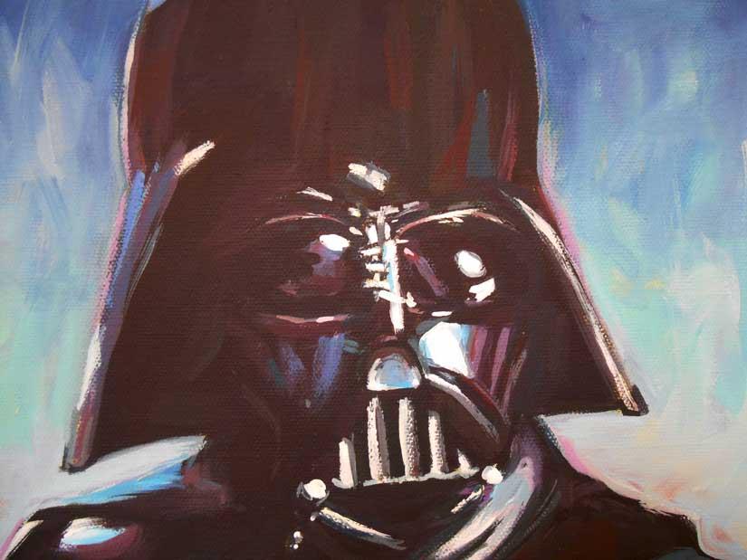 Darth Vader by HillaryWhiteRabbit