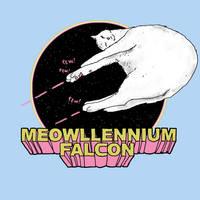 Meowllenium Falcon by HillaryWhiteRabbit