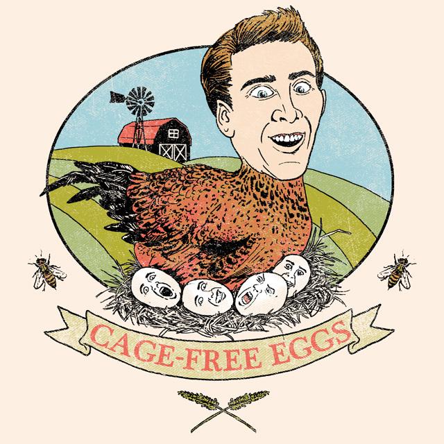 Cage-Free Eggs by HillaryWhiteRabbit