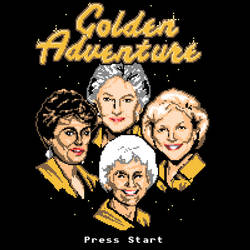 Golden Adventure by HillaryWhiteRabbit