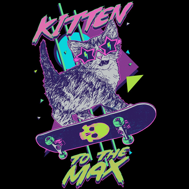 Kitten To The Max by HillaryWhiteRabbit
