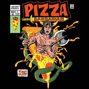 Pizza Barbarian