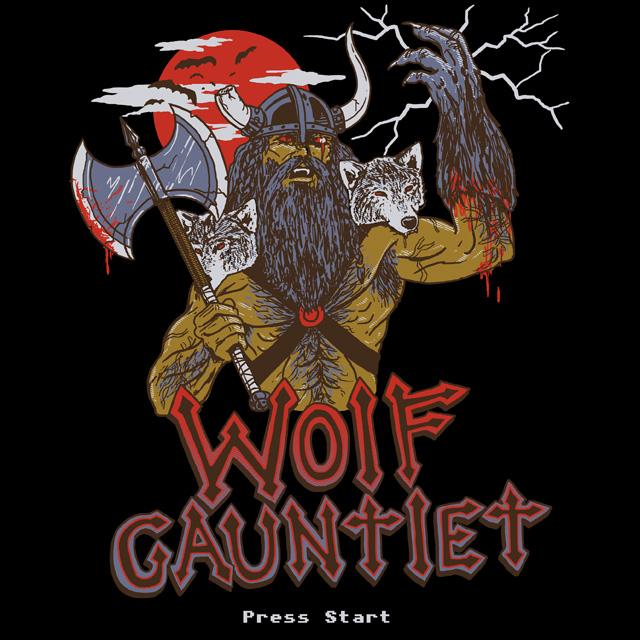 Wolf Gauntlet by HillaryWhiteRabbit