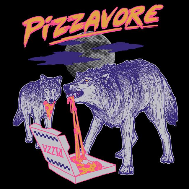 Pizzavore by HillaryWhiteRabbit