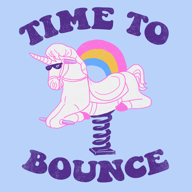 Time To Bounce by HillaryWhiteRabbit