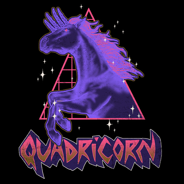 Quadricorn by HillaryWhiteRabbit