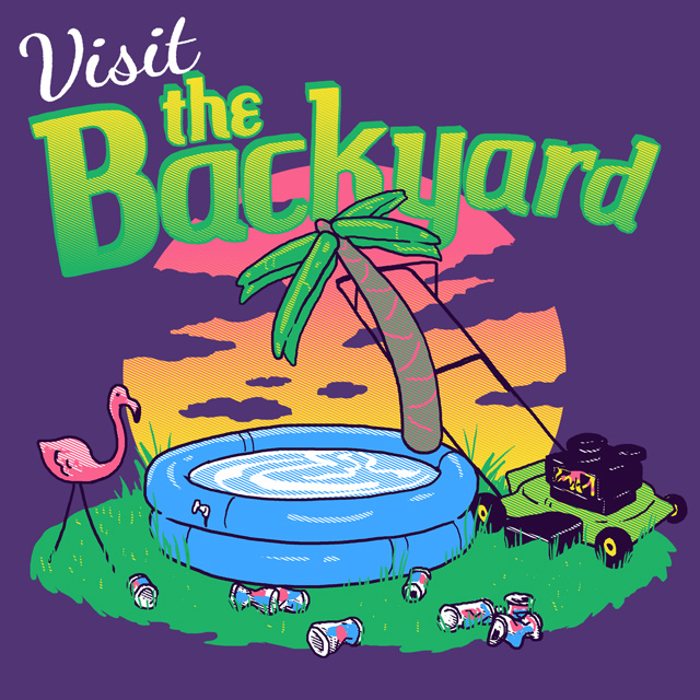 Backyard Vacation By HillaryWhiteRabbit On DeviantArt