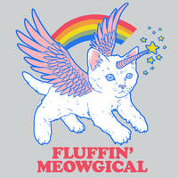 Fluffin' Meowgical by HillaryWhiteRabbit