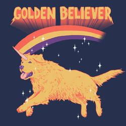 Golden Believer by HillaryWhiteRabbit