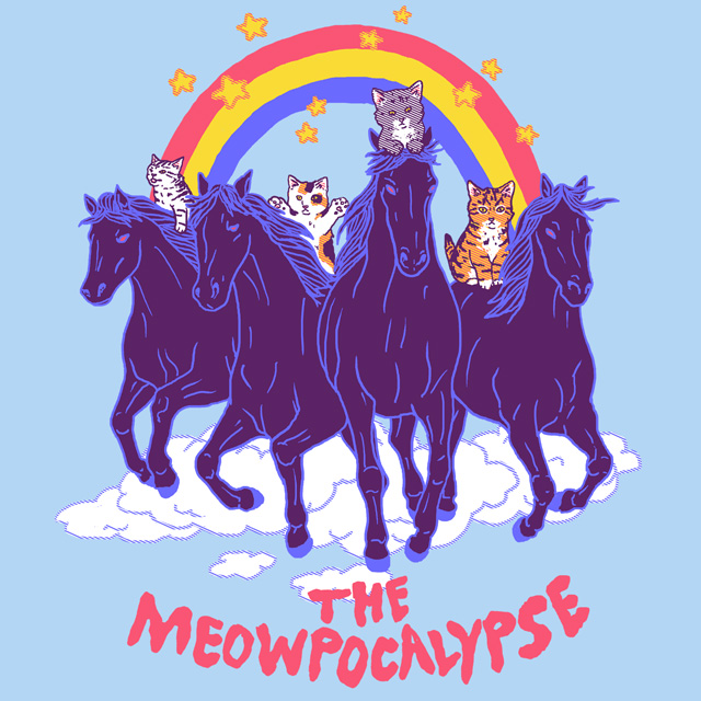 Four Horsemittens of the Meowpocalypse by HillaryWhiteRabbit