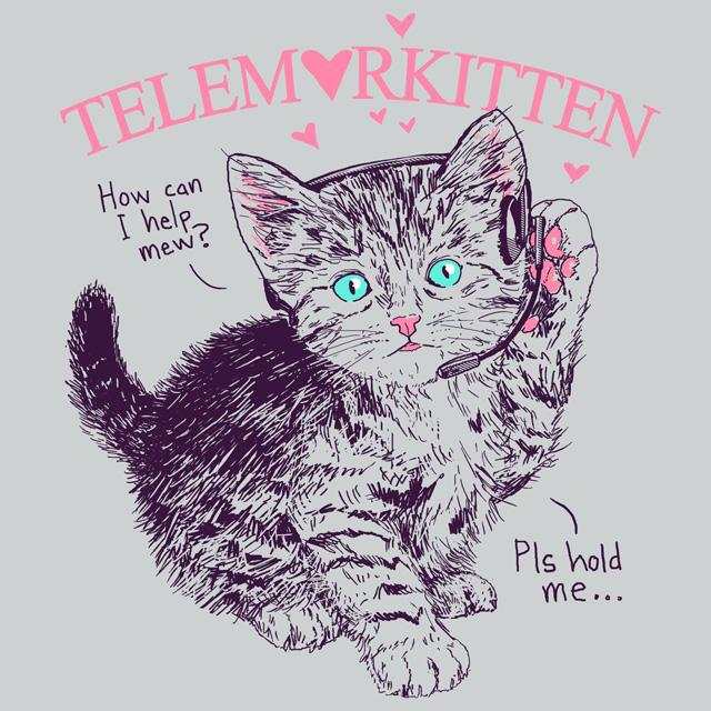 Telemarkitten by HillaryWhiteRabbit