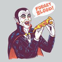 Vampizza by HillaryWhiteRabbit